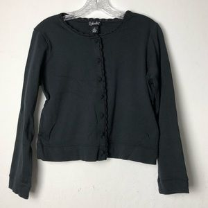 Rafaella Long Sleeve Top WM Blk